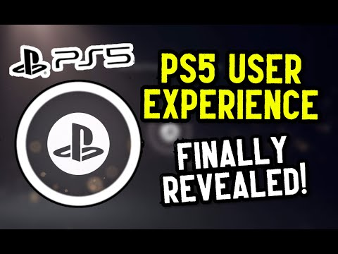 Sony FINALLY Reveals the PlayStation 5 UI!! First Look at the PlayStation 5 User Experience!