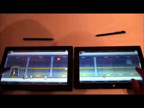 Surface Pro vs Samsung Series 7 Tablet