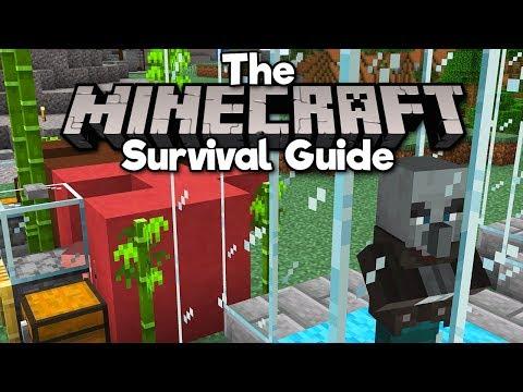 Johnny Vindicator Passive Mob Farm! ▫ The Minecraft Survival Guide (Tutorial Let's Play)[Part 245]