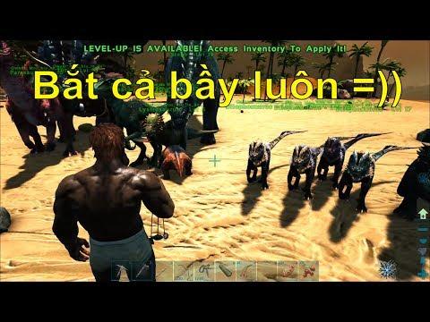ARK: Thieves Island #2 - Bắt được cả bầy khủng long trẻ trâu Dilophosaurus =)) - Thời lượng: 1:12:36.