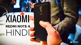[HINDI] Xiaomi Redmi Note 4 hands on review | Snapdragon 625