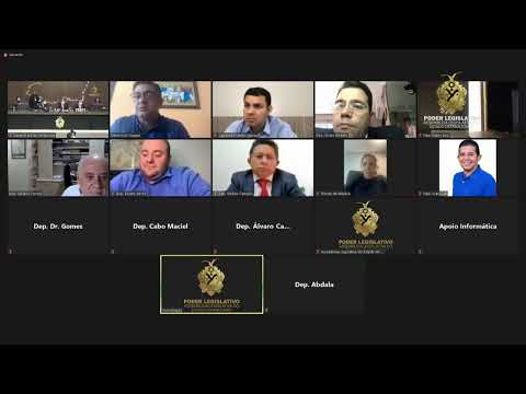 Assembleia do Amazonas - Sessão Extraordinária - 19/01/2021