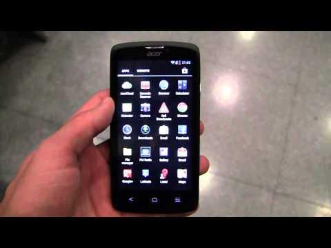 Acer Liquid C1 Hands-On