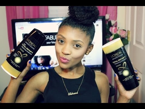 HAIR | L'Oréal Paris Advanced Total Repair 5 Shampoo & Conditioner Review