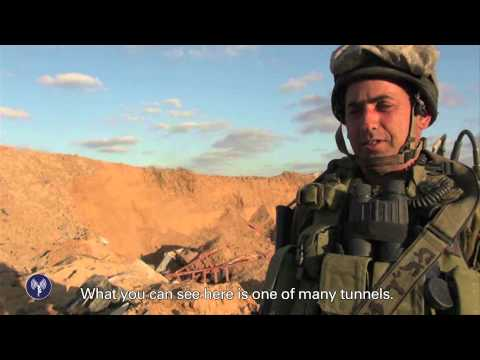 tunnel - Following 10 days of Hamas attacks against Israel, a large IDF force entered the Gaza Strip. Their mission is to target Hamas' tunnels that cross under the Israel-Gaza border and enable terrorists...