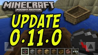 Minecraft Pocket Edition - Update News 0.11.0 - Boats with New Features