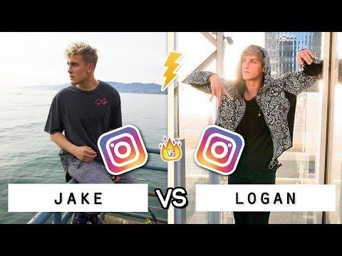 JAKE vs LOGAN Instagram Vid