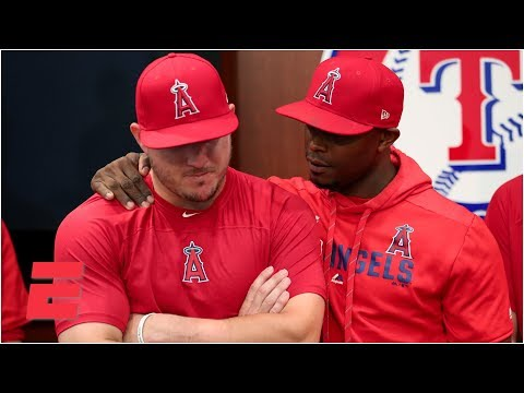 Video: Mike Trout, Angels talk about Tyler Skaggs after win vs Rangers | MLB
