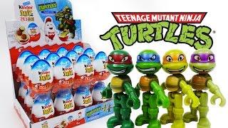 Video Kinder Joy TMNT Teenage Mutant Ninja Turtles Unboxing Surprise Eggs Cowabunga~! MP3, 3GP, MP4, WEBM, AVI, FLV Desember 2017