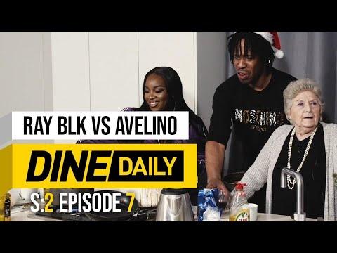 Ray BLK vs Avelino – Dine Daily w/ Grime Gran [S2:E7] | GRM Daily