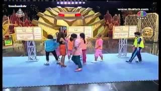 Chingroy Ching lan Sunshine Day 18 August 2013  - Thai Game Show