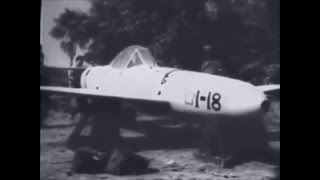 Short clip of a Japanese rocket powered manned kamikaze suicide bomb captured on Okinawa during WW2. Known as the Yokosuka MXY-7 Ohka, it was nicknamed the