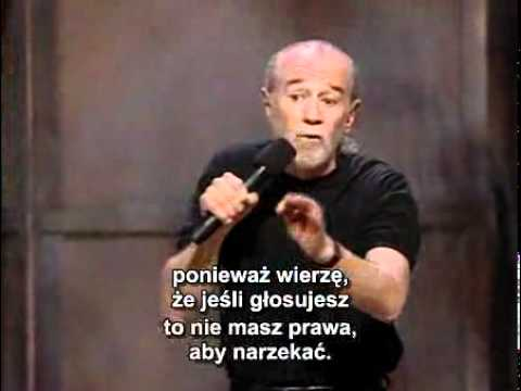 George Carlin – Politycy