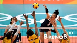 Watch it in HD! ► TOP 10 Best Women's Volleyball Back Row Spikes!● Check out the best women's volleyball back row spikes according to my thoughts! It's showing some incredible volleyball actions at the highest level by the some of the best women players in the world ;) Check out the players' descriptions bellow:TOP 1 - The polish Opposite/Outside Hitter Katarzyna Skowrońska!TOP 2 - The turkish Outside Hitter Neriman Özsoy!TOP 3 - The russian Opposite, Ekaterina Gamova!TOP 4 - The brazilian Opposite, Sheilla Castro!TOP 5 - The brazilian Outside Hitter, Fernanda Garay!TOP 6 - The brazilian Outside Hitter/Opposite, Natália Zilio!TOP 7 - The chinese Outside Hitter/Opposite, Zhu Ting!TOP 8 - The thai Middle-Blocker, Pleumjit Thinkaow!TOP 9 - The turkish Outside Hitter/Opposite, Gözde Kırdar Sonsırma!TOP 10 - The peruvian Outside Hitter, Angela Leyva!► Support me!● Follow me on Instagram: @brenobuzin ● Follow me on Vimeo: https://vimeo.com/user25133694 ● Follow me on Facebook:https://www.facebook.com/volleyballaddict1.0♫ Song: Faithless - Insomnia!● Breno Buzin - JUST PLAY IT!