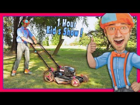 Blippi Videos for Children | Lawn Mower and More!