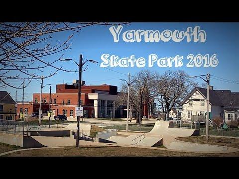 Yarmouth Skate Park 2016