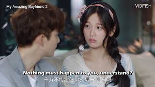 Nonton My Amazing Boyfriend 2 (ENG SUBS) 我的奇妙男友 2 Ep11 Tian Jingzhi is worried for Xue Lingqiao Film Subtitle Indonesia Streaming Movie Download