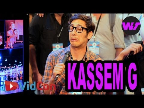 shira lazar - Our idea of the perfect YouTuber, Kassem G, hits on cosplayers, describes his