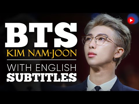 ENGLISH SPEECH | BTS: Speak Yourself (English Subtitles)