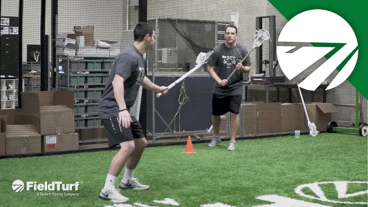 Cut Off │ Shooting Drill │ Lacrosse Training with Colin Doyle