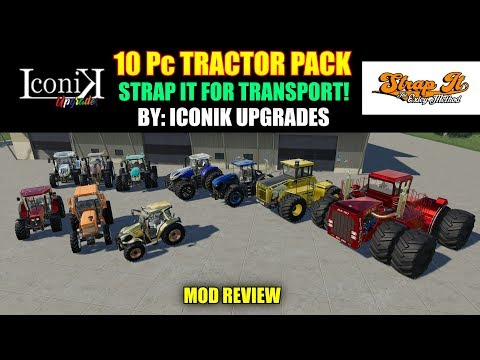 Iconik Tractor Pack v1.0