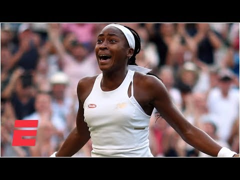 Coco Gauff completes epic comeback to advance to the Round of 16 | 2019 Wimbledon Highlights
