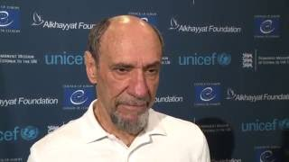 Watch: F. Murray Abraham Speaking About Refugees and the Importance of Education at the U.S. Fund fo