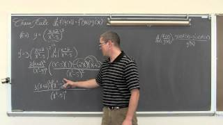 Chain Rule Harder Algebraic Examples