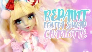 ☽ Moonlight Jewel ☾ Repaint Lolita Swap Charlotte the Cake Shop Lolita