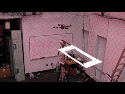 perching robot - Control of precise aggressive maneuvers with an autonomous quadrotor helicopter. This is a small autonomous Unmanned Aerial Vehicle (UAV). Demonstrations of ...