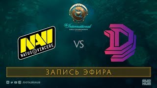 Na`Vi vs DD, The International 2017 Qualifiers [V1lat, GodHunt]
