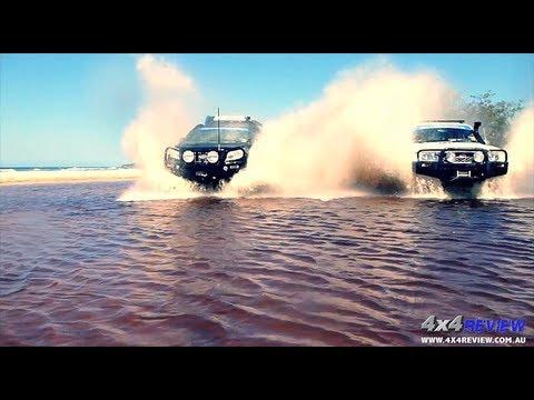 Stradbroke Island Straddie 4×4 4WD Adventure in Toyota Prado 150 GU Nissan Patrol by 4×4 Review