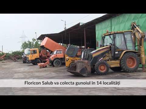 Floricon Salub va colecta gunoiul în 14 localități