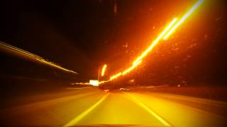 Journey Home in Night Lapse