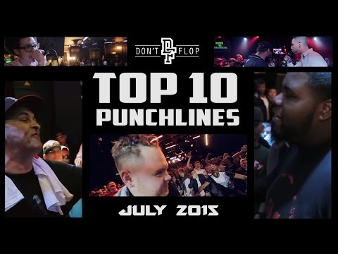 DON'T FLOP: TOP 10 PUNCHLINES | JULY 2015 @DontFlop