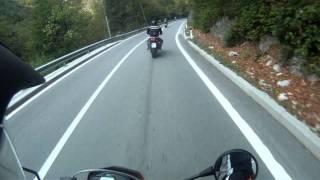 Idrija Slovenia  City new picture : Idrija,Slovenia...Driving wonderful roads BMWg650xMoto,Yamaha FZ6 and T-Max
