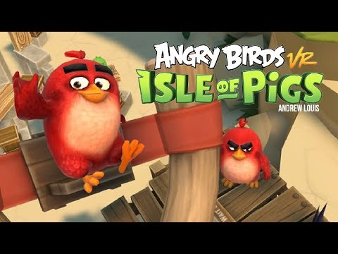 Angry Birds VR Full Playthrough 4K60FPS