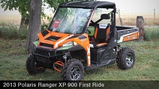 7. 2013 Polaris Ranger XP 900 First Ride - MotoUSA