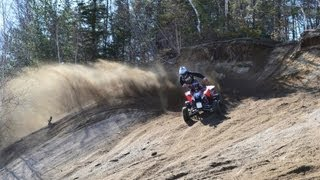 7. ATV Movie WCR :  Can-am ds 450 xmx Polaris outlaw 450 : VIDEOCLIP WCR