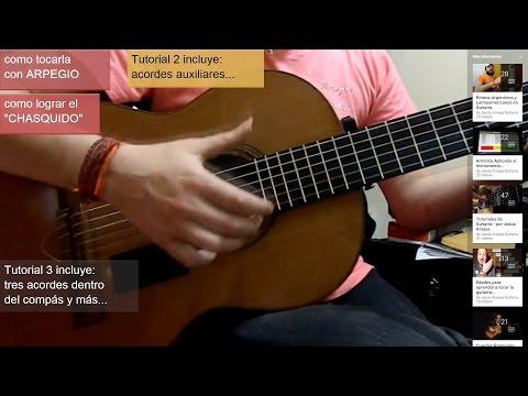 Tocar Zamba (tutorial) - por Jesús Amaya...