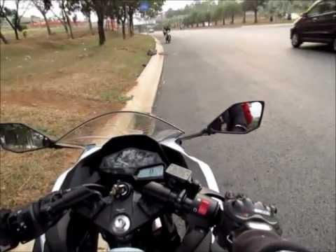 Ninja 250Fi Onboard VS Traffic