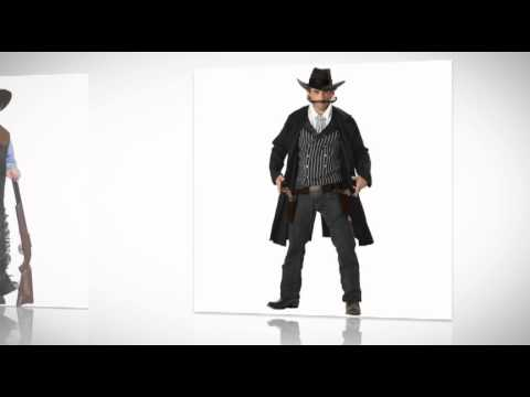 Lone Ranger Tonto and Cowboy Costumes For Adults and Kids