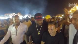 Video 50 CENT @ Jemaa el Fna  by Made in Marrakech MP3, 3GP, MP4, WEBM, AVI, FLV Juni 2017
