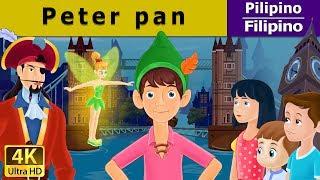 Peter Pan - kwentong pambata - mga kwentong pambata tagalog - 4K UHD - Filipino Fairy Tales