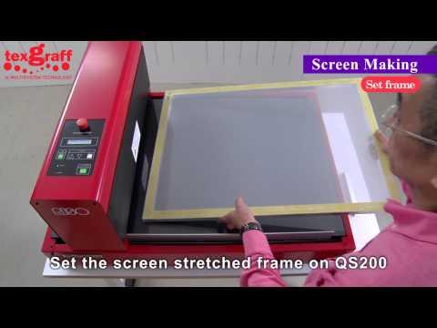 Digital Screen Making for t shirt, t-Shirt screen printing, easy registration