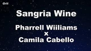 Video Sangria Wine - Pharrell Williams x Camila Cabello Karaoke 【No Guide Melody】 Instrumental MP3, 3GP, MP4, WEBM, AVI, FLV Juli 2018