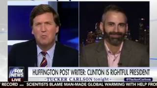Video OUTFOXED! HuffPost Writer Alex Mohajer Embarasses Tucker Carlson on Fox News MP3, 3GP, MP4, WEBM, AVI, FLV April 2018