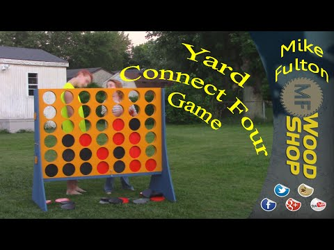 Yard Size Connect Four Game