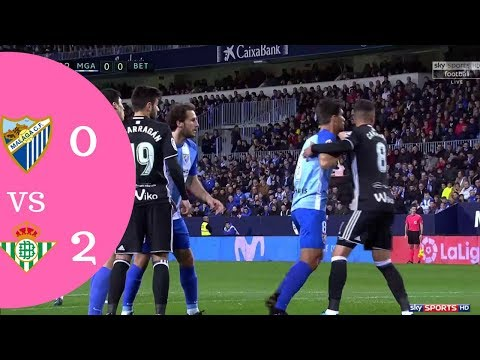 Malaga Vs Real Betis 2 X 0 Highlights Goal Malaga X Real Betis Vs Malaga Gols Best Moments 18 Dez