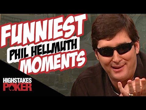 Phil Hellmuth Funniest High Stakes Poker Moments